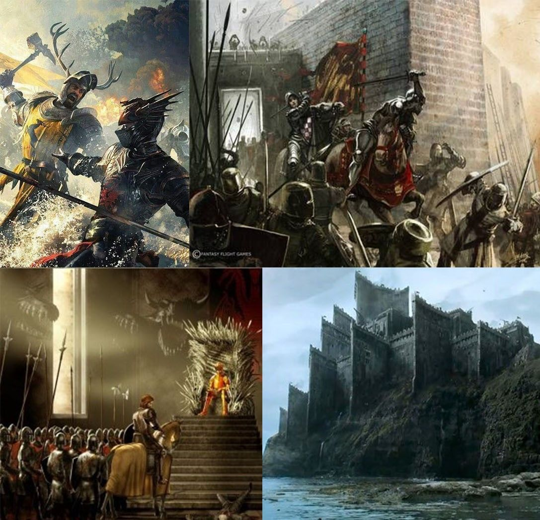 The Rise of the Dragons - Chapter 1 - Alex_Stark - Game of
