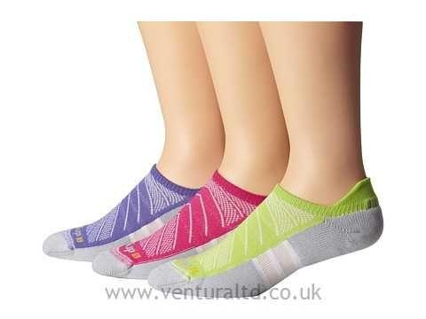 Drymax Sport Max Cushion Run-Packaged No Show Tab 3-Pair Pack October Pink Running Socks 8550190