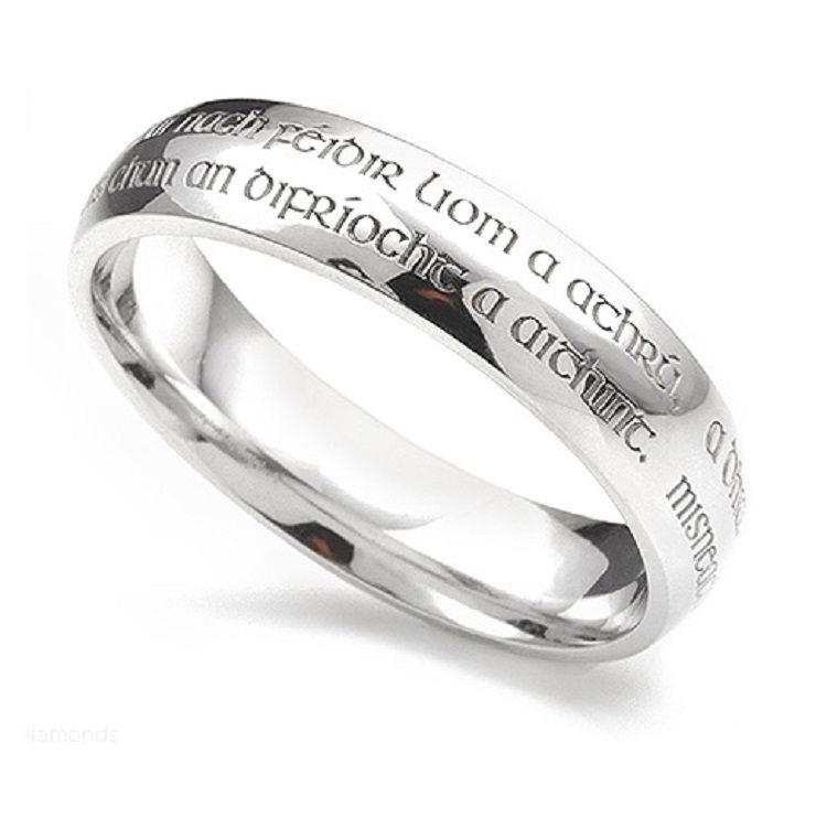 Gaelic Wedding Ring Inscriptions