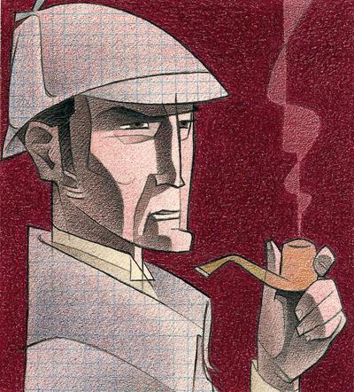Sherlock Holmes Paco Gimenez Sherlok Holms Illyustracii Dzheremi Brett