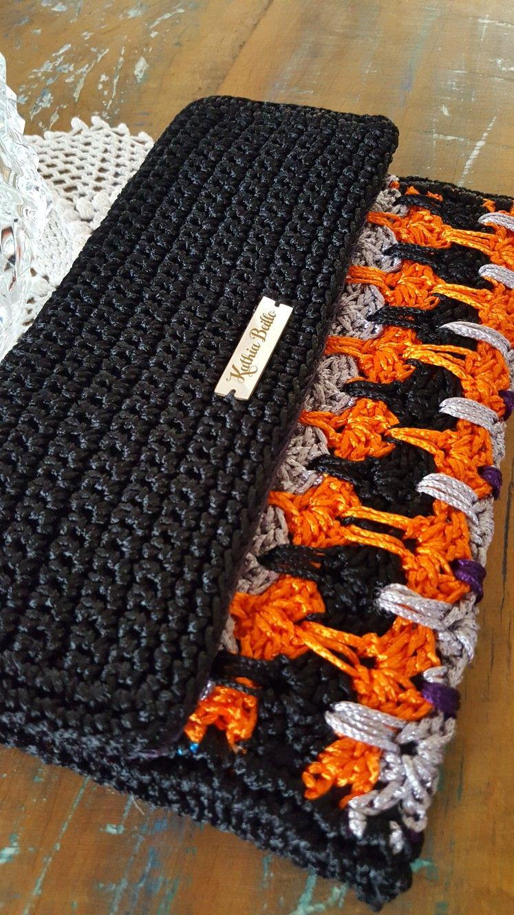Carteira/Clutch GLAMOUR | crochet | Pinterest | Bolsos, Blusas ...