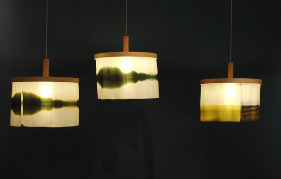 Sognsvann Abstract Lamp By Nicolette Brunklaus