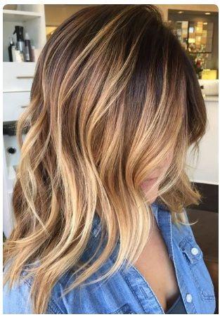 Meches Blondes Cheveux Mi Long Coupes De Cheveux Et