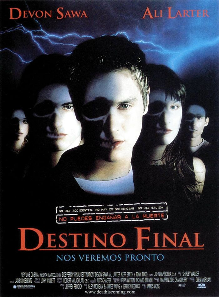 Destino Final Final Destination 2000 James Wong Peliculas De Terror Ver Peliculas Peliculas
