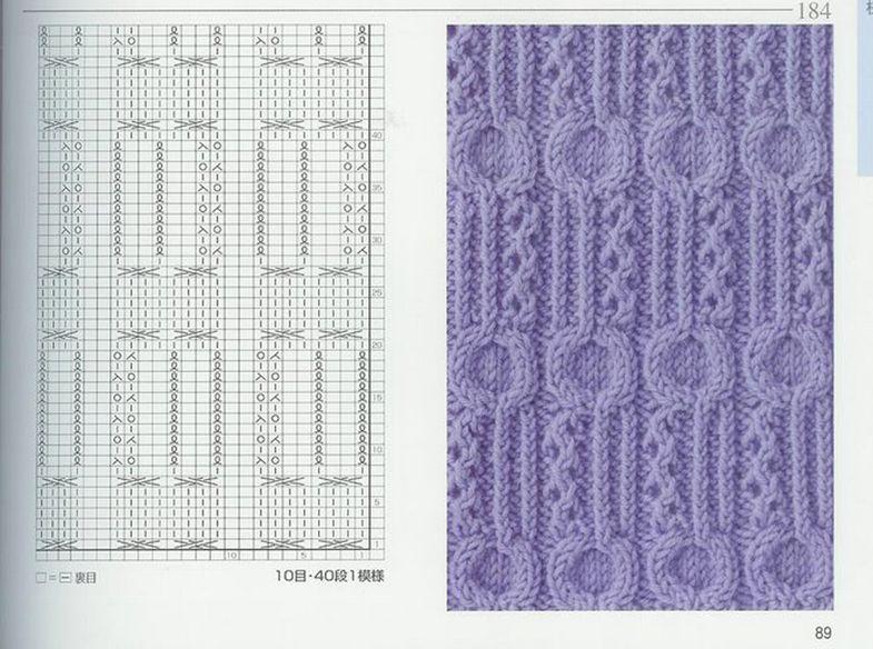 knitting pattern knitting pattern #51   Aran Patterns   Pinterest