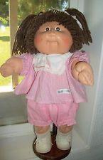 Zapatos De Vestir Cabbage Patch Kids 1982-3 HM2 CHICA MARRÓN OJOS/pelo hoyuelos pecas