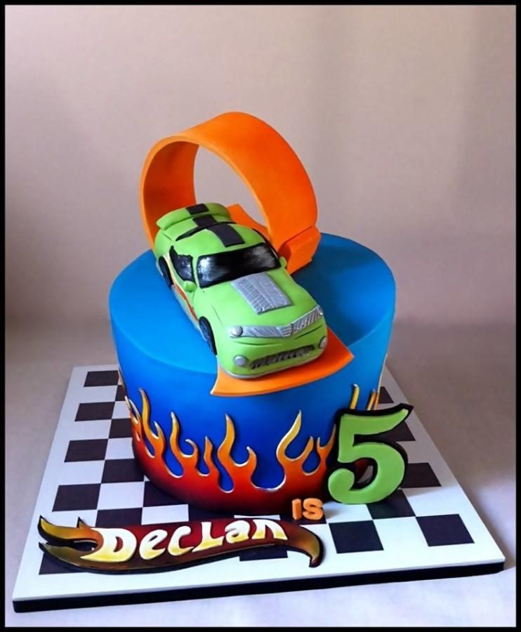 Hot Wheels Birthday Cakes With Character Pinterest Hot
