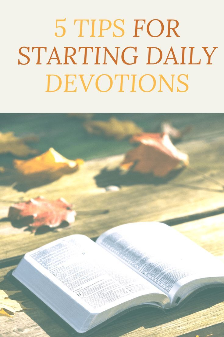 Here are 5 life changing tips for starting daily devotions! They will  change your life! For more on faith, check out: www.onlygirl4boyz.com