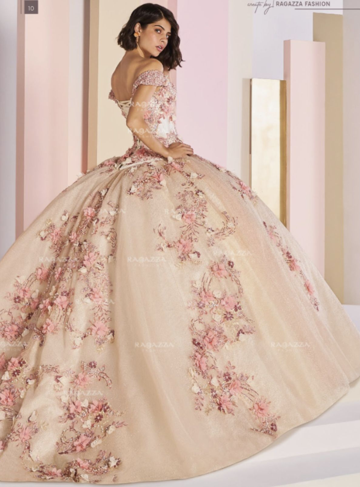f278904c05 Quinceanera dress by Ragazza - Ether D03-503