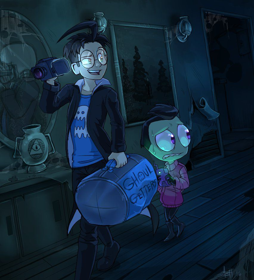 You Re Not Scared Are You By Skeleion Deviantart Com On