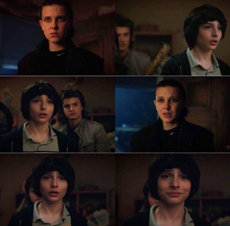 Mike And Eleven Reunite Stranger Things 2 Strangerthings2