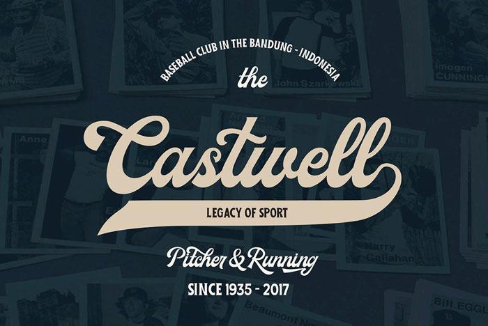 MIlestone Font Family Baseball font, Font examples, Old