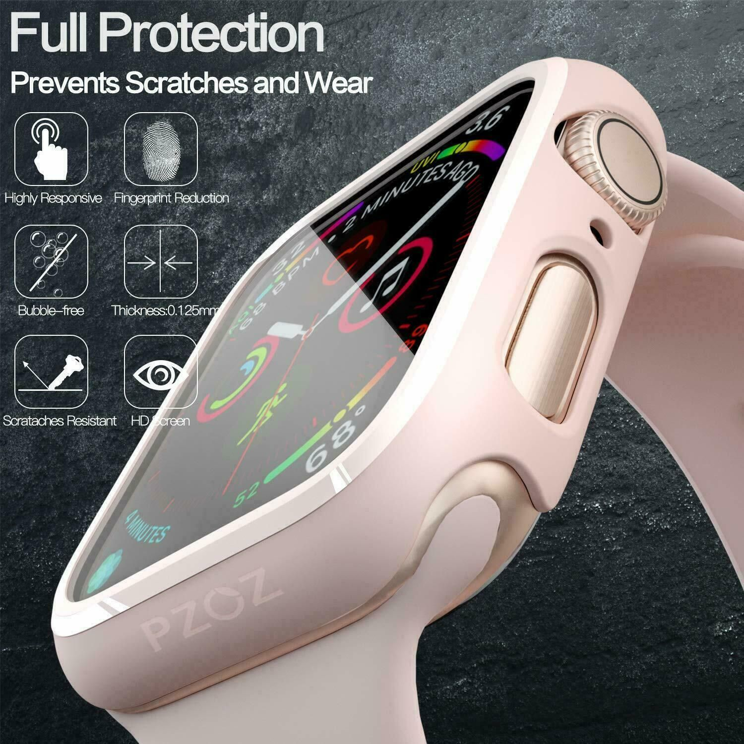 Details About Apple Watch Series 5 4 3 2 1 Screen Protector Plated Case Cover For 44 42 40 38 Apple Watch Design Apple Watch Series Apple Watch Case