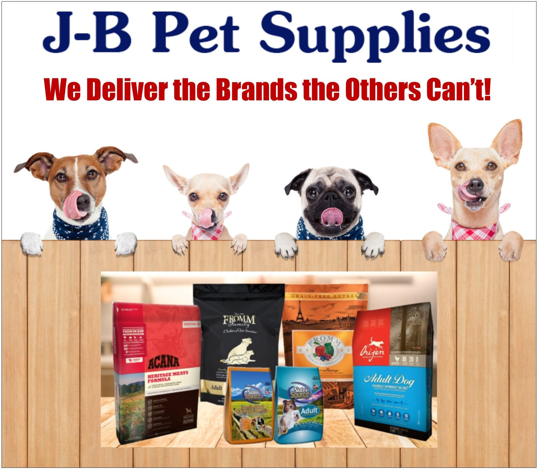 J B Pet Supplies Delivers The Brands You Cannot Buy At The Online