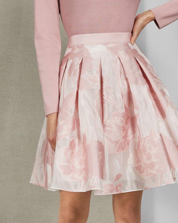 4503c263bc Ted Baker LAIIYA Jacquard mini skirt in 2019 | Products | Mini ...