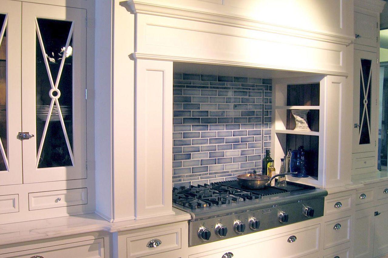 Encore Ceramics 2x6 Field Tile Hand Glazed In Cerulean Blue Backsplash Ranch House Remodel Design Remodel