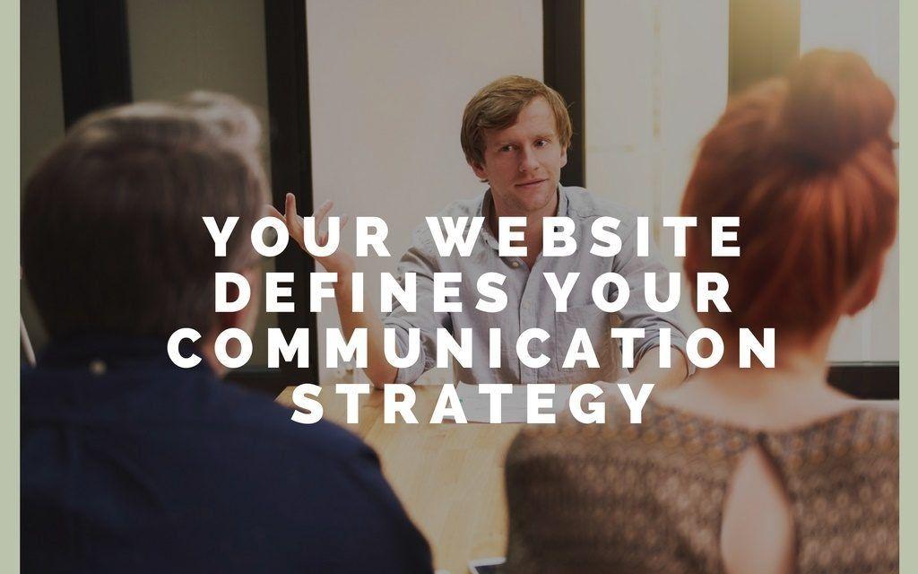 Your Website Defines Your Communication Strategy Church Tech - communication strategy