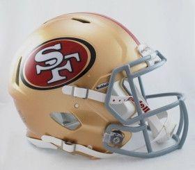 San Francisco 49ers Revolution Speed Pro Line Helmet
