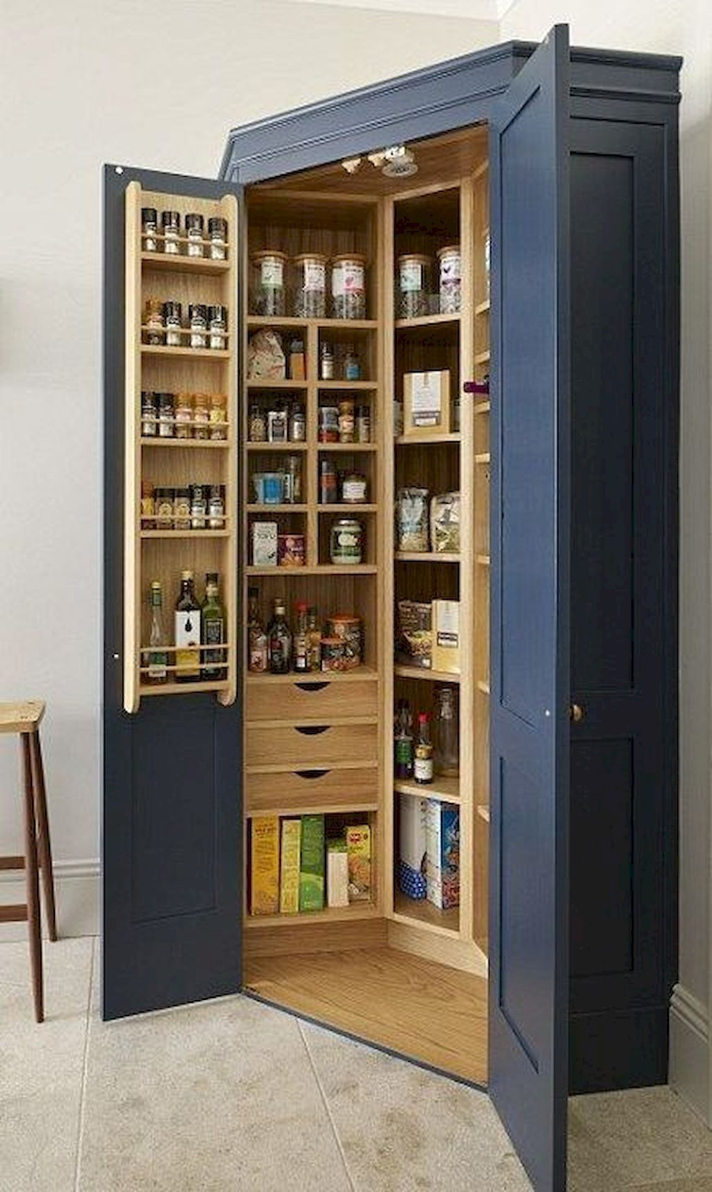 51 Unique Kitchen Cabinet Ideas To Get You Started Pantry