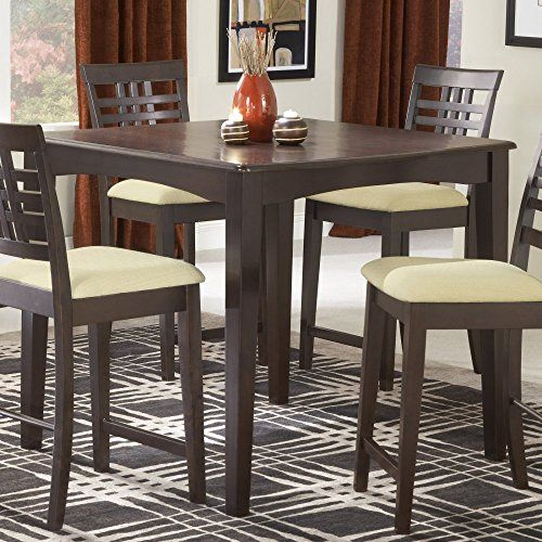 Great Hillsdale Tiburon 40 X 40 Counter Height Fix Top Dining TableEspresso     For More Information