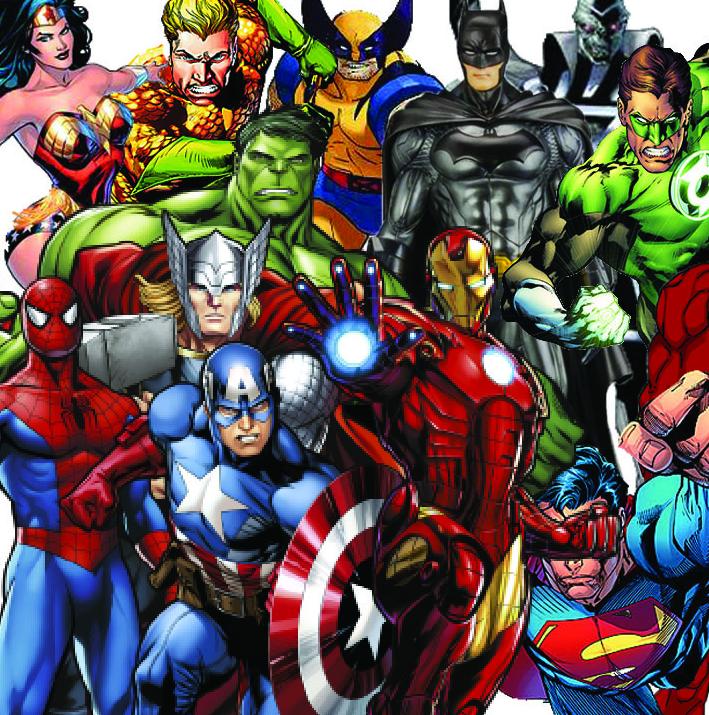 Marvel e DC têm personagens suficientes para fazer filmes por 3 milênios
