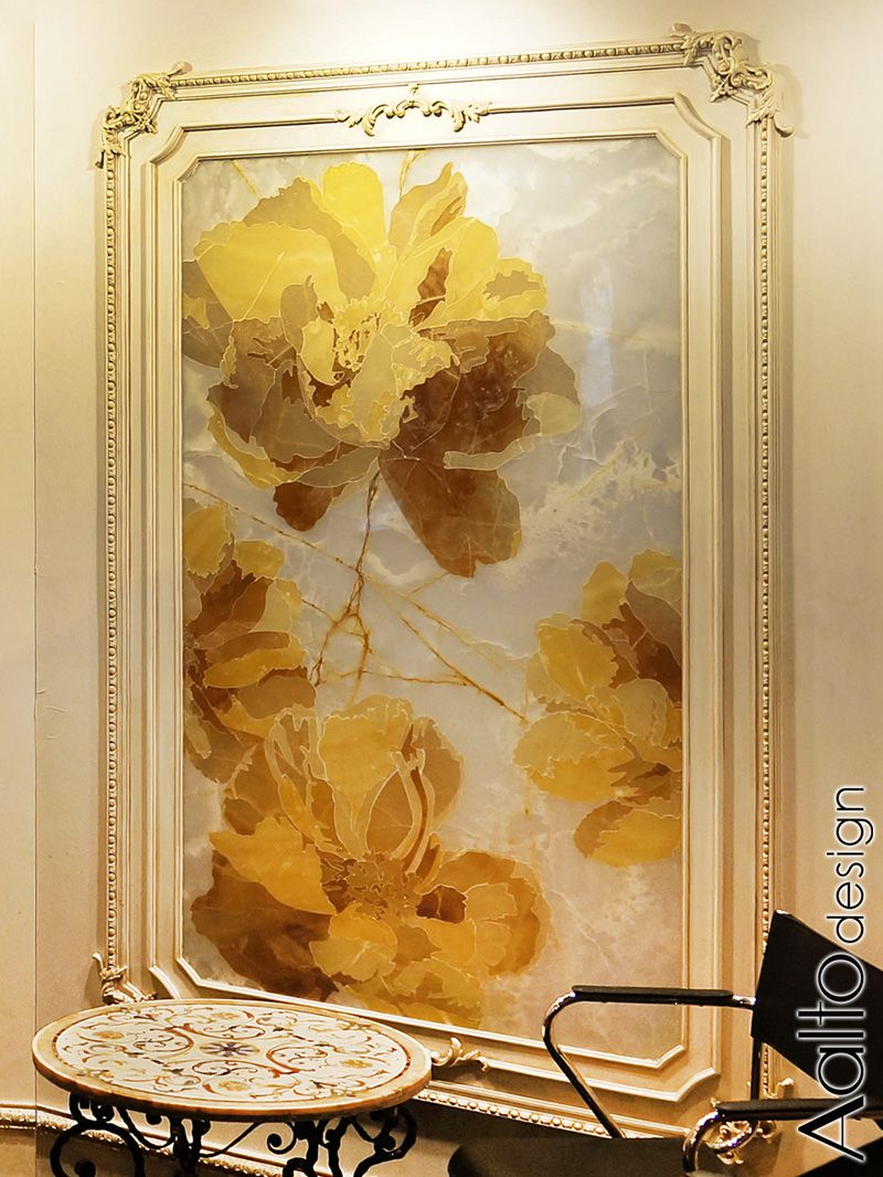 Realistic peony flowers made in colors of onyx, by Aalto design, are ...