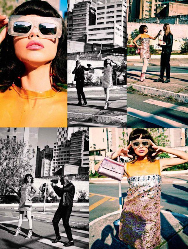 #AdrianaLima #FactoryGirl  Inspiration: #AndyWarhol  By #EllenvonUnwerth For #VogueBrasil