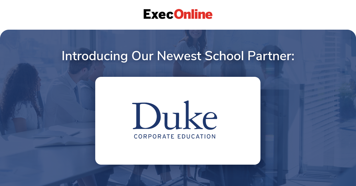 Execonline Partners With Duke Corporate Education To Launch Online Program In Workplace Wellness In 2020 Online Programs Workplace Wellness Executive Education