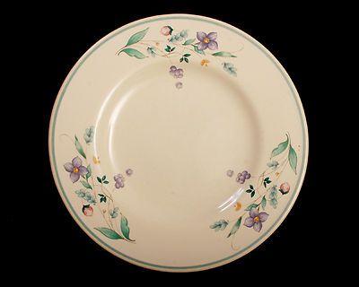 Pfaltzgraff Salad Plate April Pattern Floral Small Bread | eBay