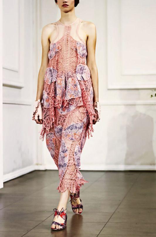 Bora Asku  Spring-Summer 2017  London  Fashion Week