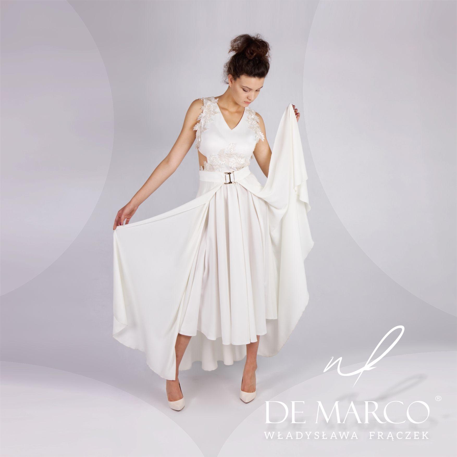 Oryginalne Suknie Slubne Szyte Na Miare W De Marco Najmodniejsze Stylizacje 2020 Sklep Projektanta Dresses Fashion White Dress