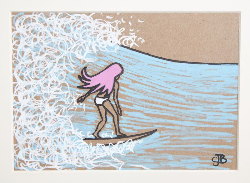 Stunning surf art at the Beach Boutique, looks lovely in your home!  www.surfgirlbeachboutique.com