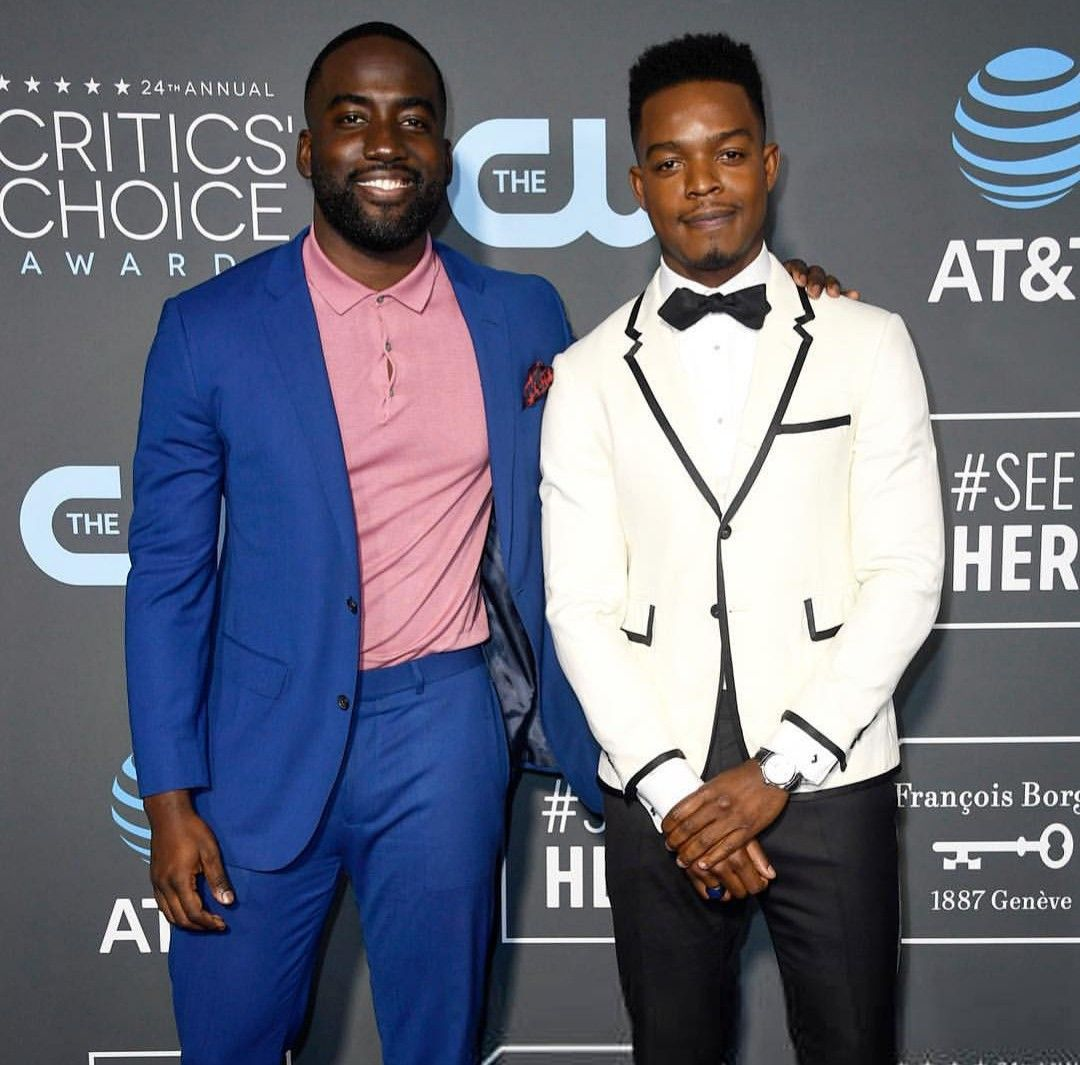 Shamier Anderson And Stephan James Suit Jacket