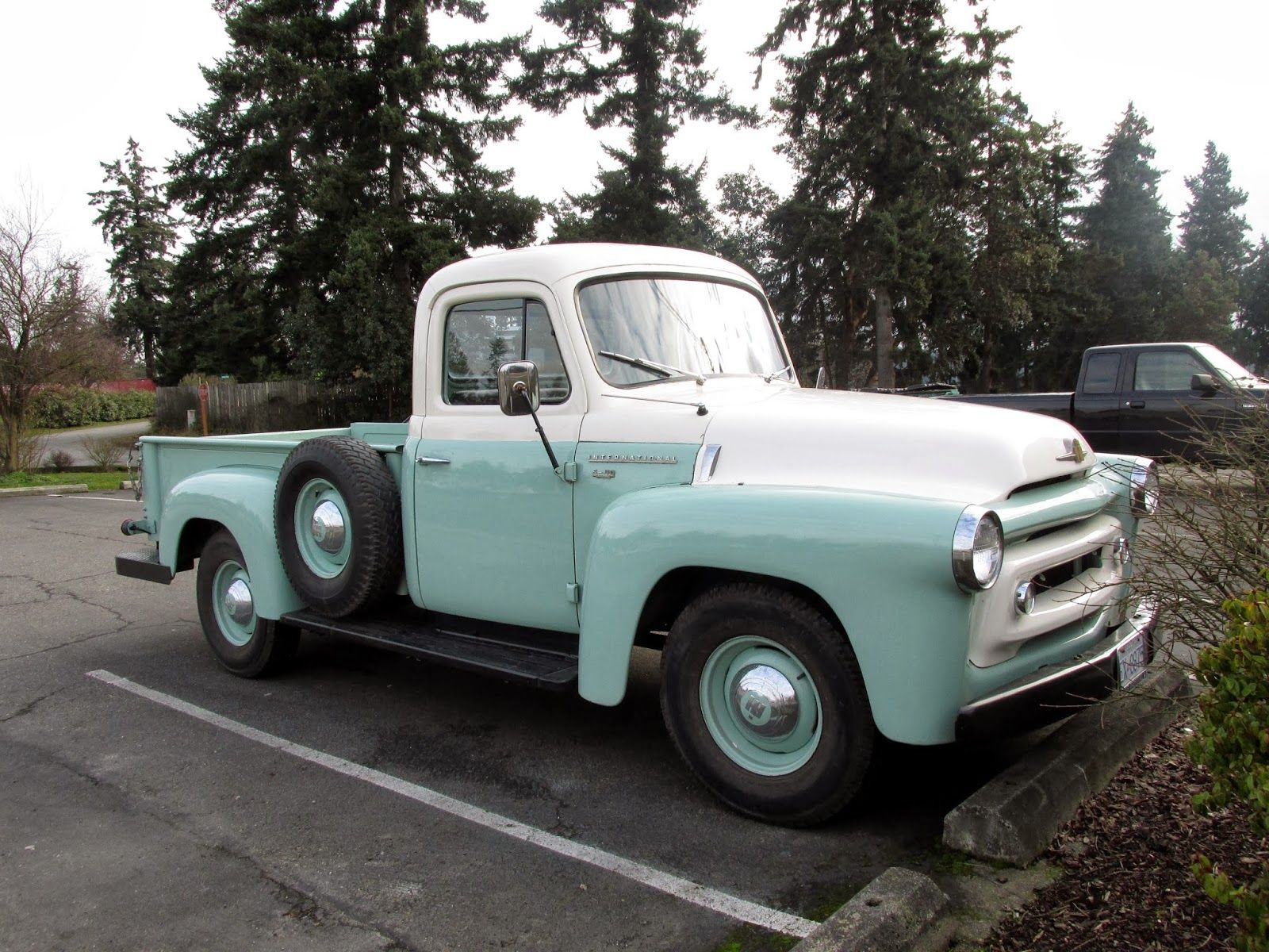 Seattle s classics 1956 international harvester s110 pickup