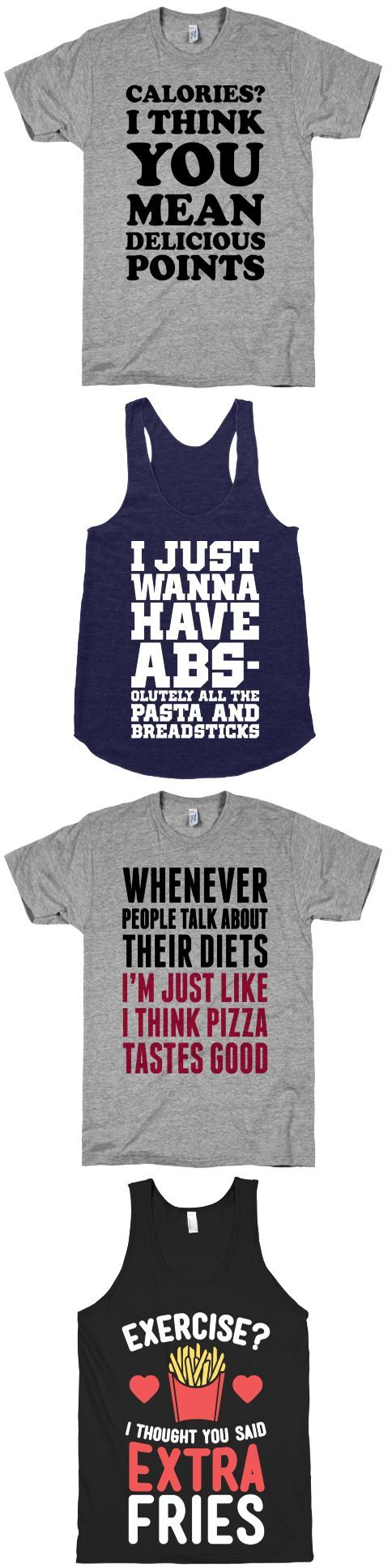 Foodie Collection - LookHUMAN   Funny Pop Culture T-Shirts, Tanks, Mugs & More  - Page