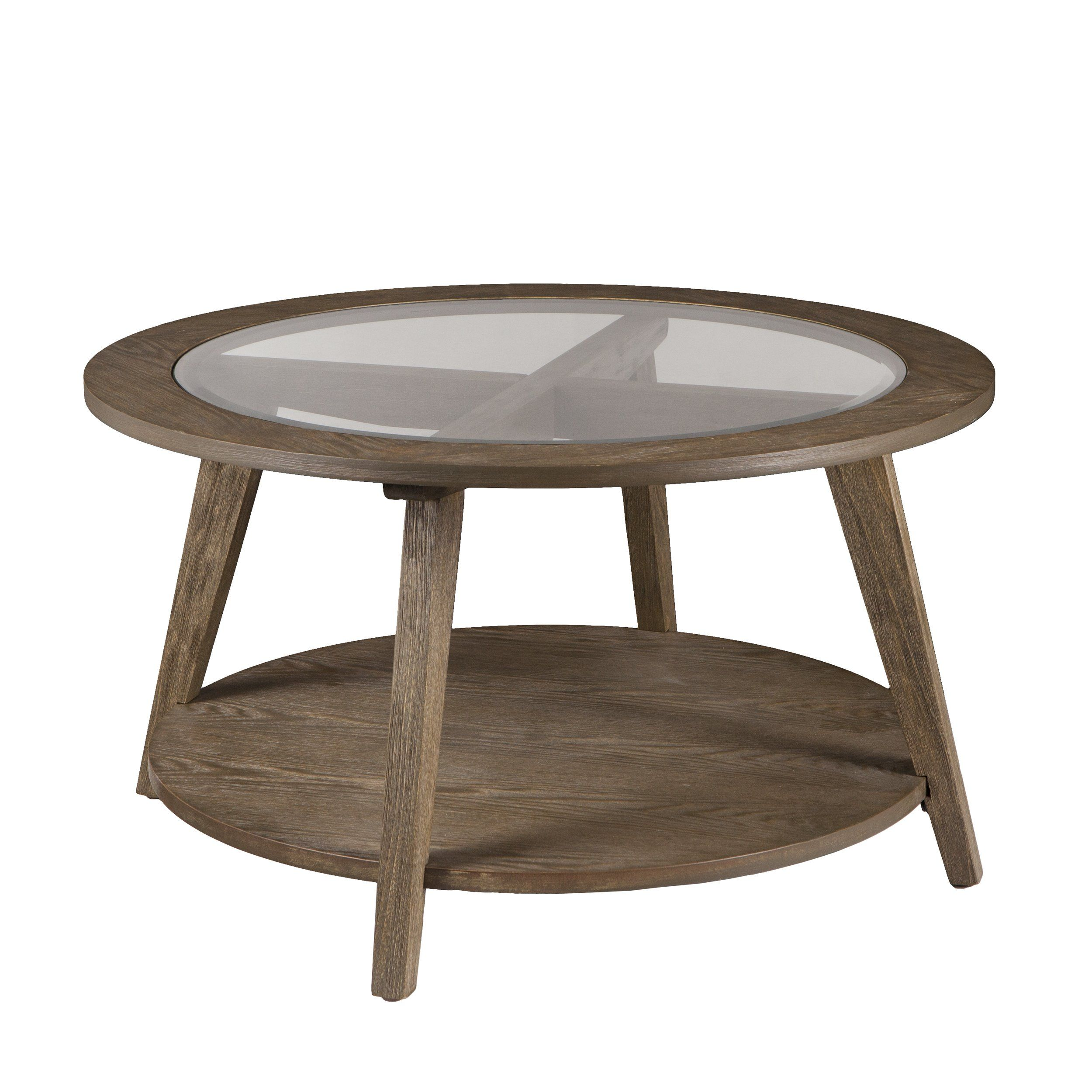 Furniture Hotspot A Round Wood W Glass Top Coffee Table A Burnt Oak W Gray Wash 32 W Round Cocktail Tables Round Wood Coffee Table Glass Top Coffee Table [ 2500 x 2500 Pixel ]