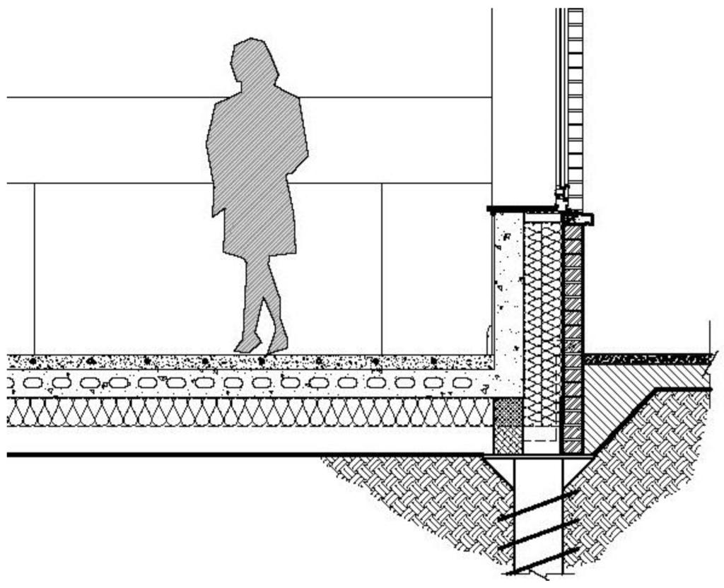 Hard Floor Flooring Details : Floor on ground detail plan section pinterest