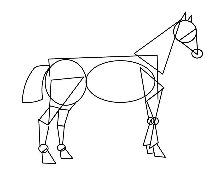 Chevaux sketching horses pinterest dessin dessin cheval et apprendre dessiner - Apprendre a dessiner des chevaux ...