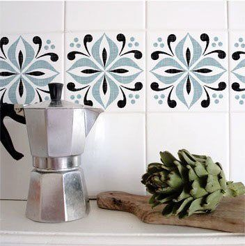 Spruce Up Bath And Kitchen Tile With Temporary Tile Stickers Homefakeovers