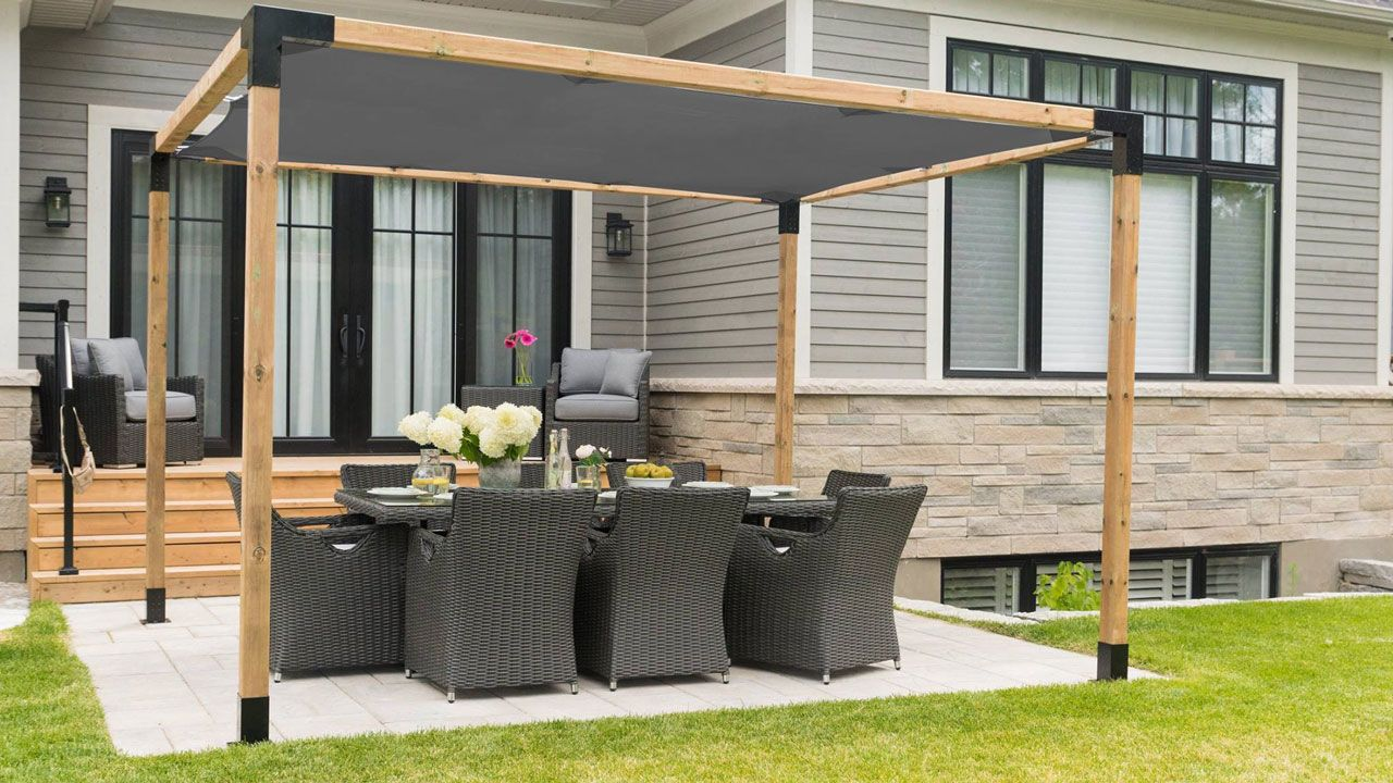 Toja Grid Modular Pergola System Is The Easiest Cheapest And