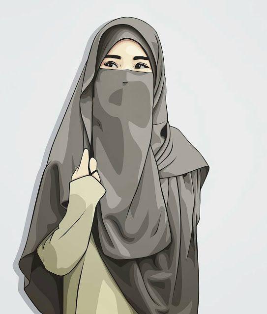 Kumpulan Kartun Hijab Muslimah Cute Gambar Kartun Seni Islamis