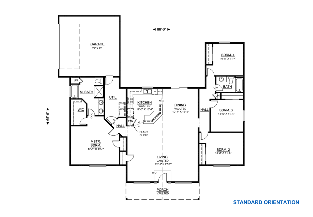 Good Open Floor Plan With No Formal Dining Room 2188 Sf Hilinehomes Plans