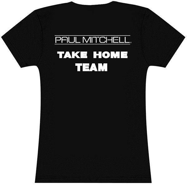 paul mitchell the school logo | Paul Mitchell Take Home Team - Crew Neck - Shirts