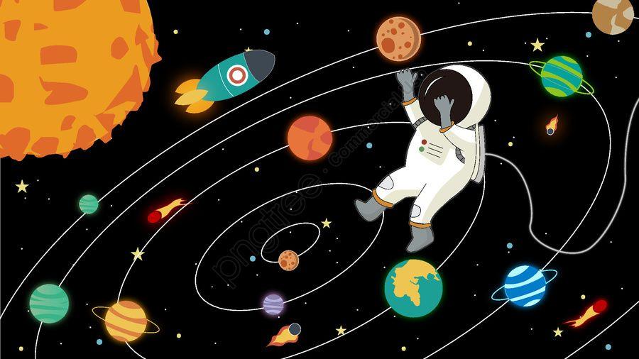 ورقة تلوين المجموعة الشمسية موضوع الفضاء للاطفال تعليم مبكر شمسات Kids Save