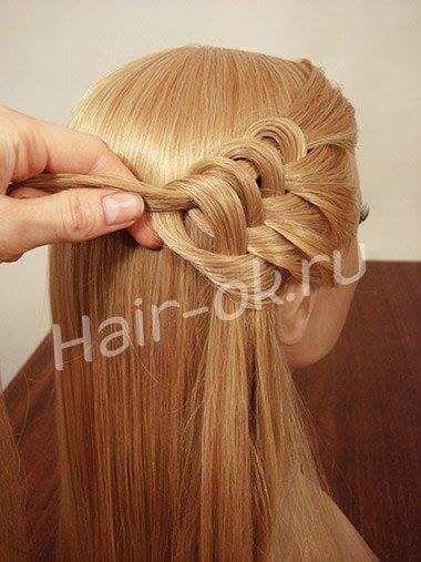 peinados bonitos en forma de corazn 7 imgenes - Peinados Bonitos