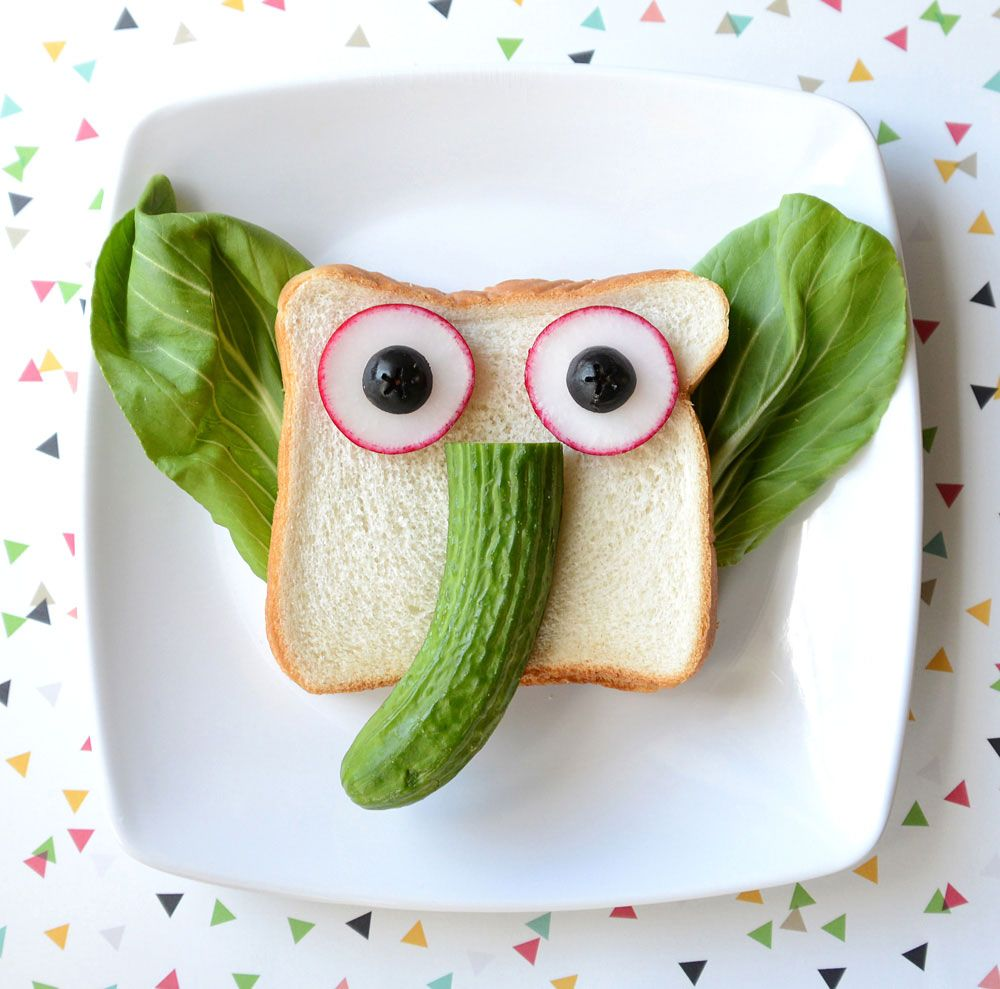 How to decorate sandwiches