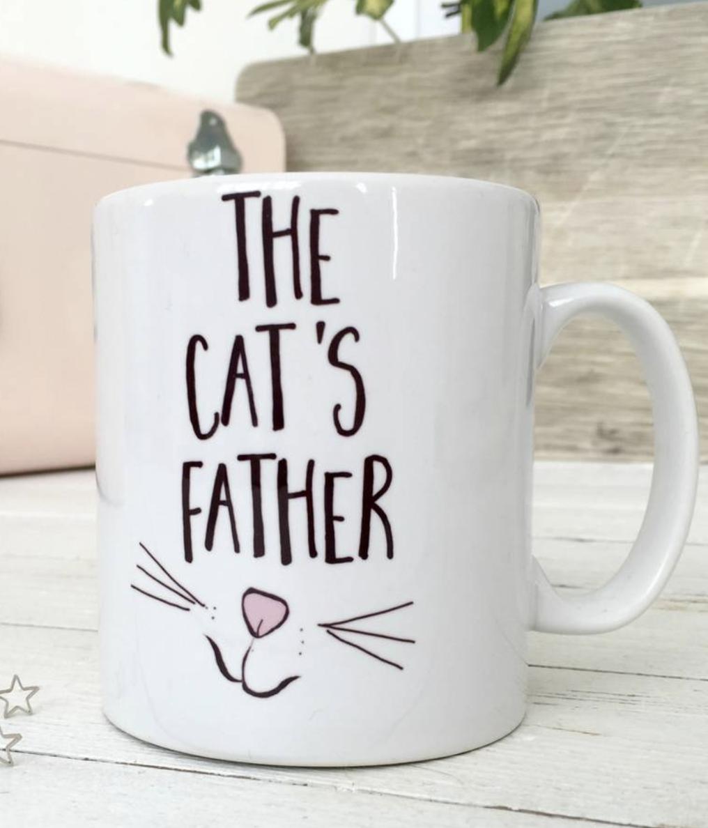 Crazy Cat Man! Cat's Father Gift This cat mug makes a
