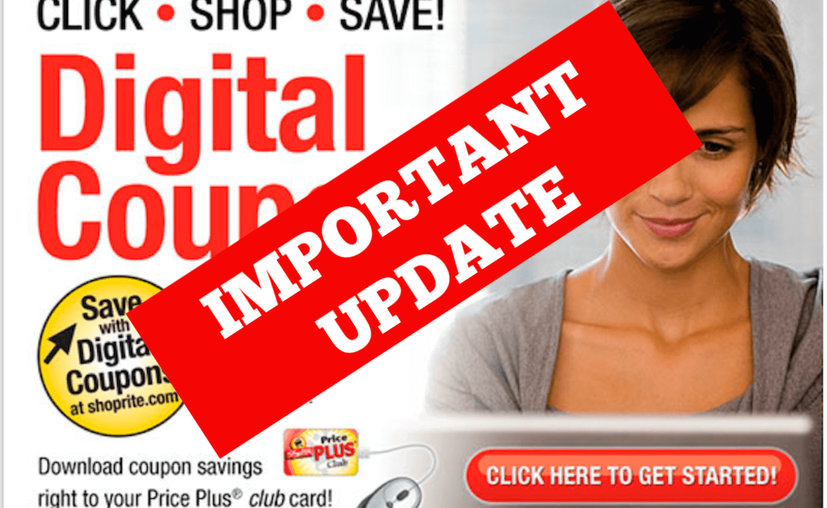 ShopRite Will Stop Stacking Digital Coupons Starting 5/5