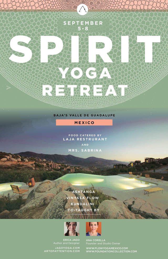 SPIRIT YOGA RETREAT - Jago Yoga jago yoga Pinterest Yoga - yoga flyer