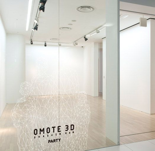 Make a 3D model of yourself at OMOTE in Tokyo